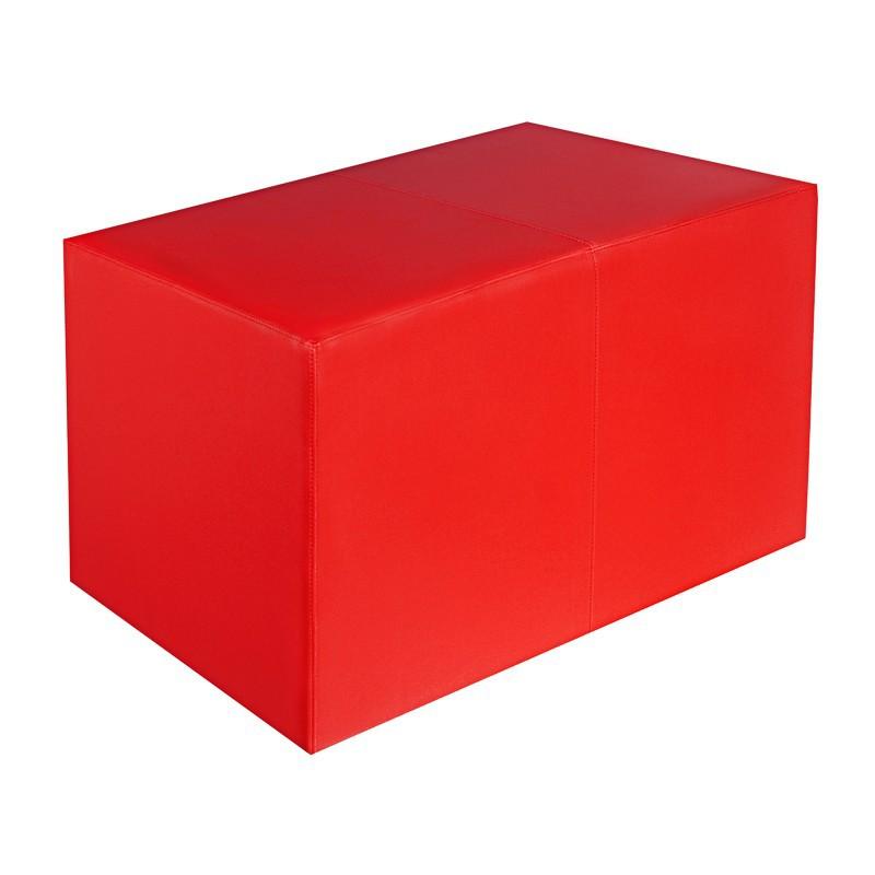 sitzbank rot ma e 85 cm x 43 cm x 48 cm sitzw rfel. Black Bedroom Furniture Sets. Home Design Ideas